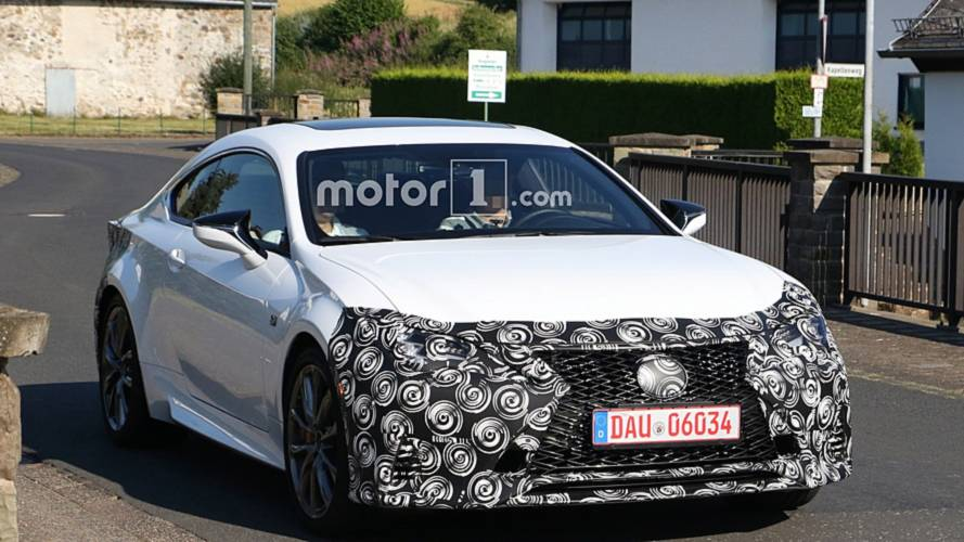 2019 Lexus RC F Spy Photos