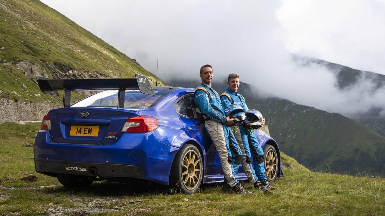 Subaru WRX STI récord en la Transfagarasan
