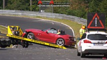 BMW Z4 M Hard Crash At Nurburgring