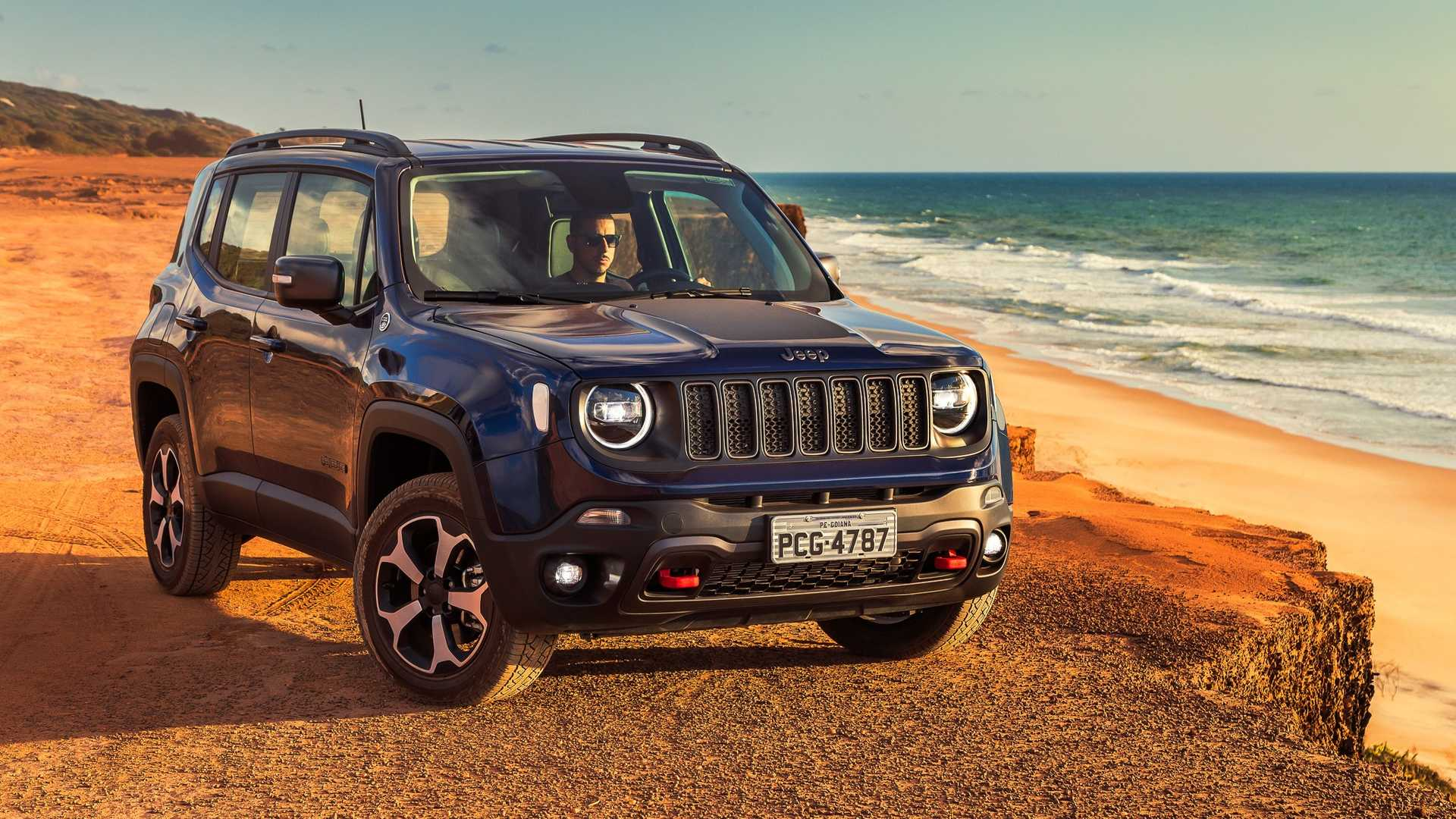 SUVs compactos em fevereiro: Renegade lidera e C4 Cactus ultrapassa Tracker Primeiras-impressoes-jeep-renegade-2019