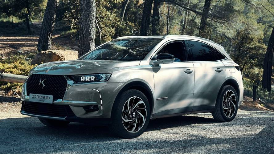 DS 7 Crossback E-Tense 4x4 Unveiled With 296-HP Plug-In Hybrid Setup