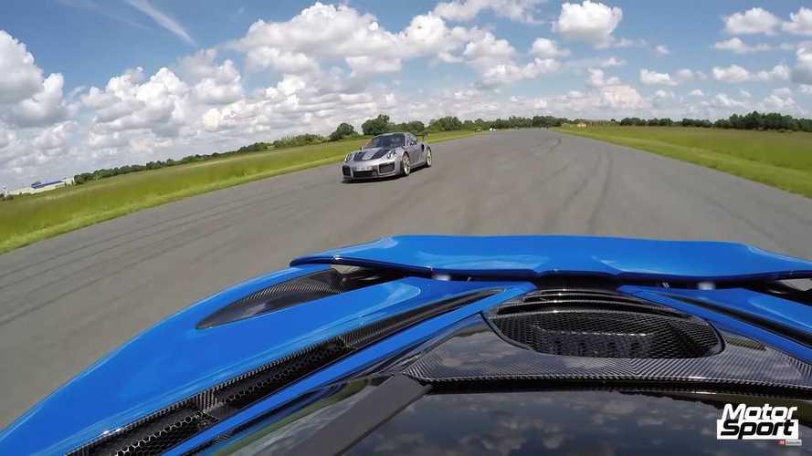 Porsche 911 GT2 RS Vs. McLaren 720S Drag Race