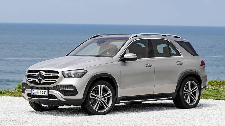 Neue Mercedes-GLE-Generation startet Anfang 2019