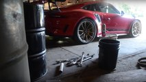 911 GT3 RS On Dirt