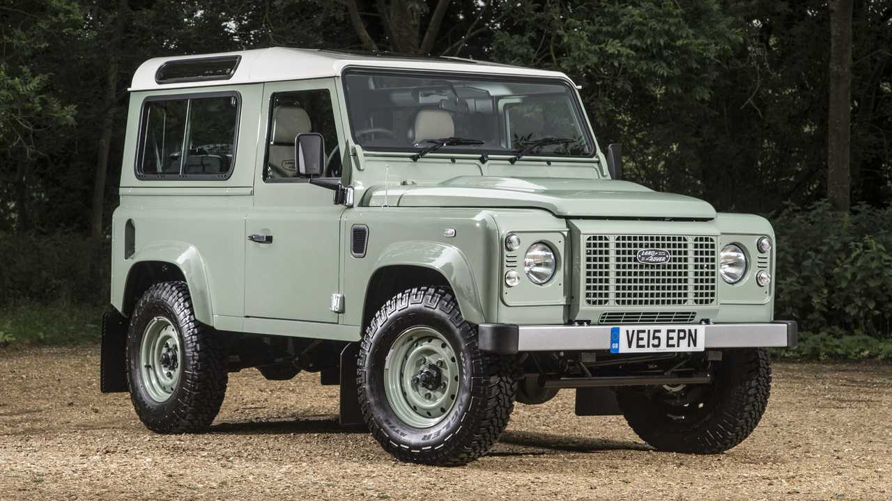 Land Rover Defender 90 Heritage Edition 2016