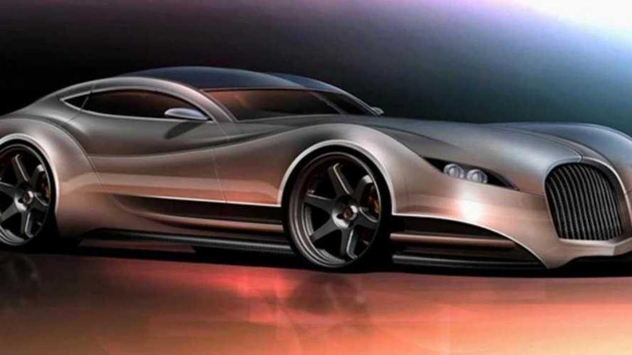 Mid-2020s Morgan concept design