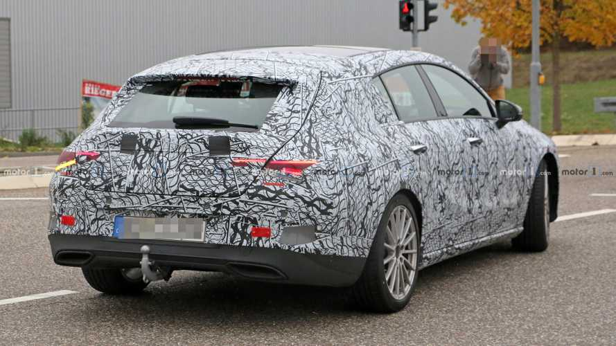 New Mercedes CLA Shooting Brake Shows Wider Tailgate In Spy Shots