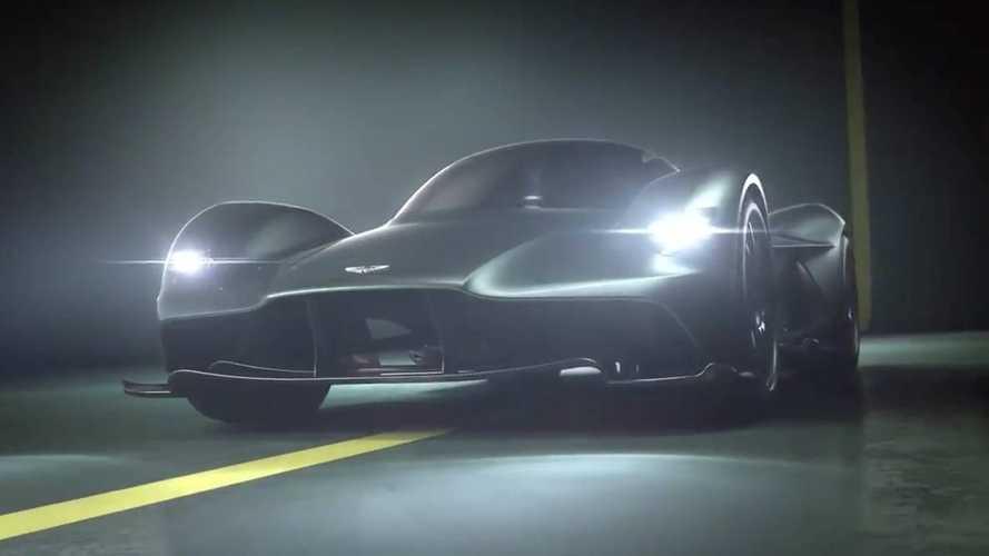 Aston Martin дал послушать V12 гиперкара Valkyrie