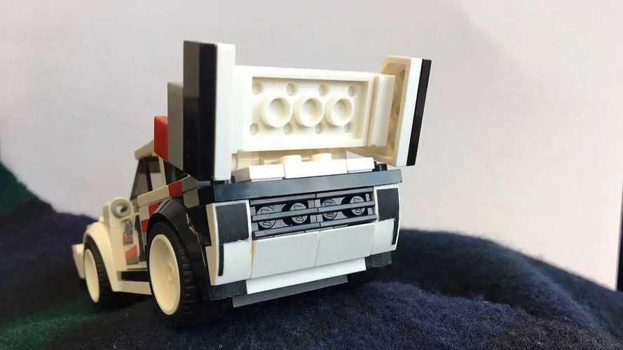Audi Sport quattro 1987 Lego Speed Champions