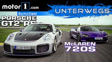 VIDEO: Porsche 911 GT2 RS vs. McLaren 720S