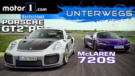 VIDEO: Porsche 911 GT2 RS vs. McLaren 720S