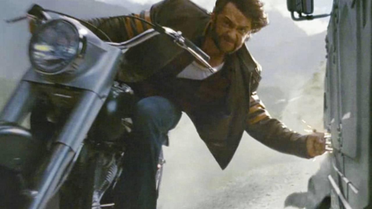 Wolverine stunts cruiser in X-Men Origins