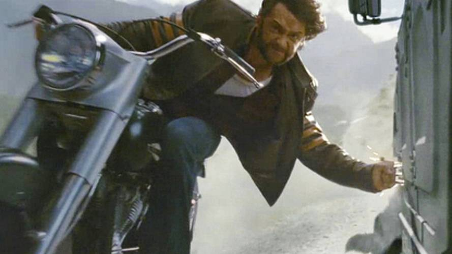 Wolverine stunts cruiser in X-Men Origins