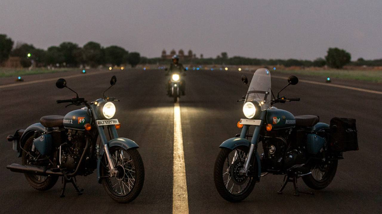 No Mixed Signals in Royal Enfield's New Classic 350