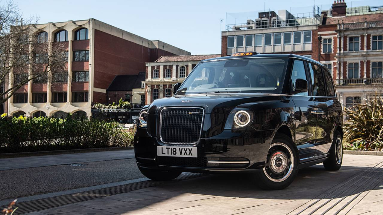 LEVC TX electric taxi Coventry