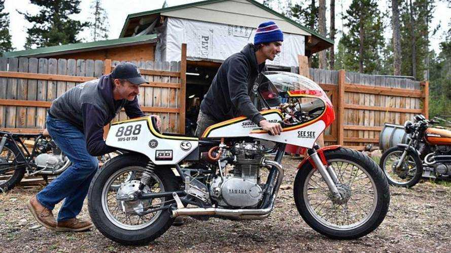Мотоцикл на водке установил рекорд скорости