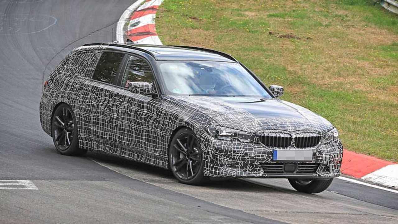 2019 BMW 3er Touring Prototyp