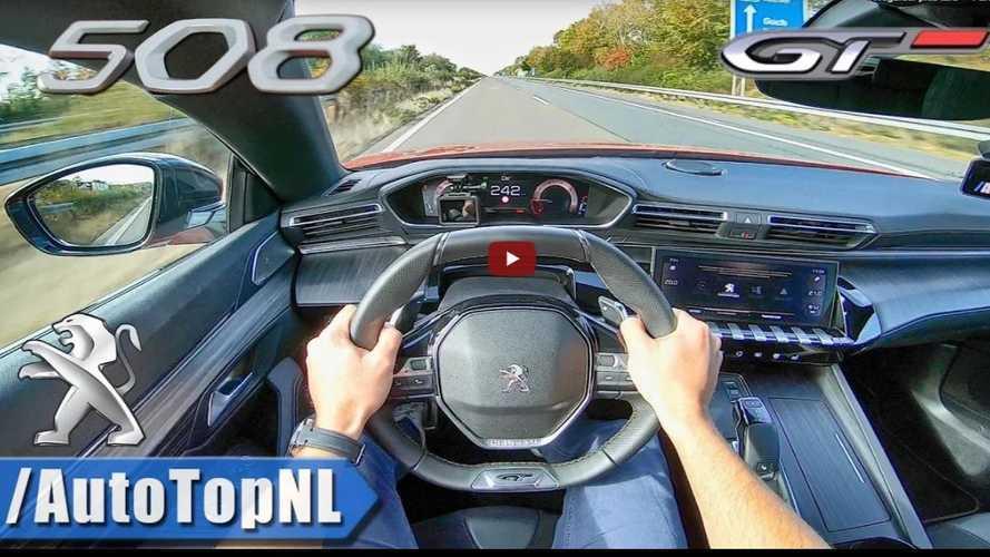 VIDÉO - La Peugeot 508 poussée à sa vitesse maximale sur l'autobahn