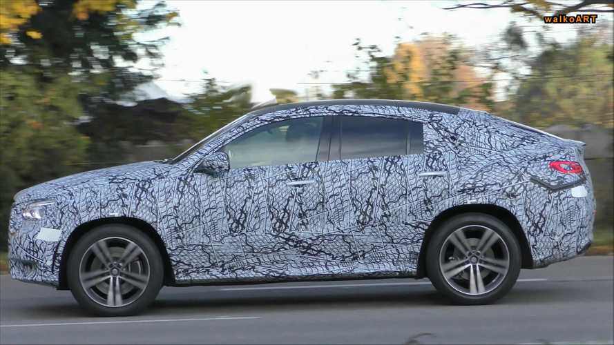 2020 Mercedes GLE Coupe Caught Briefly In Traffic