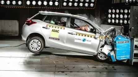Toyota Yaris recebe 3 estrelas em teste de colisão do Global NCAP