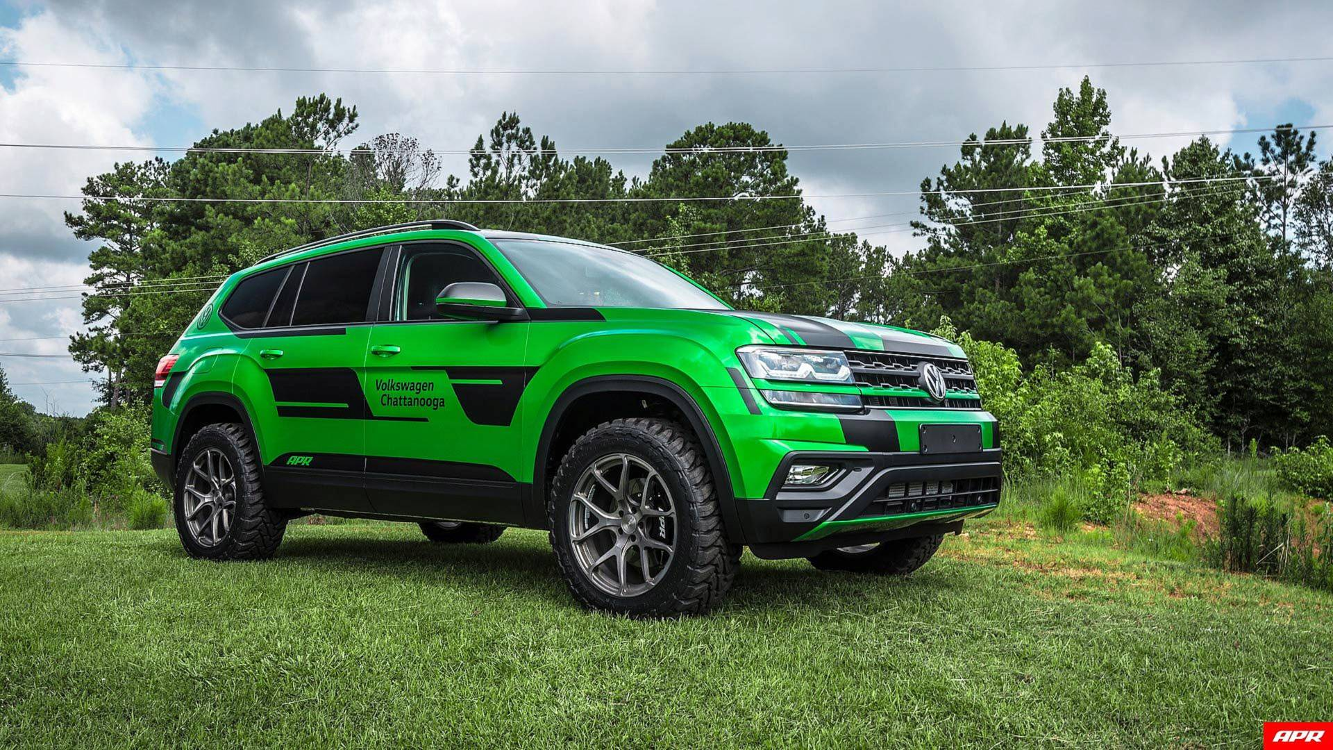 Tuner Transforms Vw Atlas Into Lifted 350 Hp Performance Suv