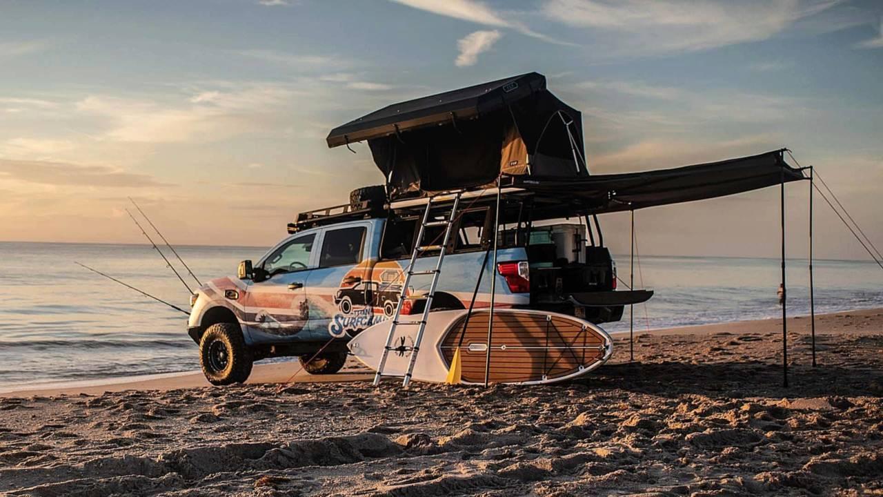 Nissan Titan Surfcamp Concept