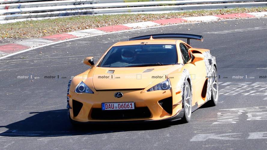 Lexus LFA Test Mule Spy Shots