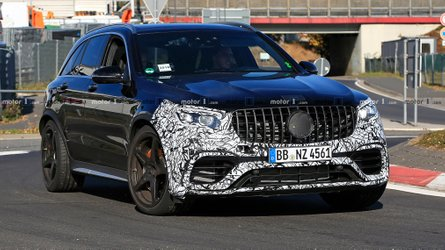 2019 Mercedes-AMG GLC 63 Facelift Spied For The First Time