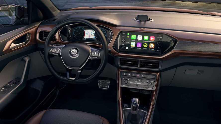 VW T-Cross Comfortline e Highline agora têm painel digital de série