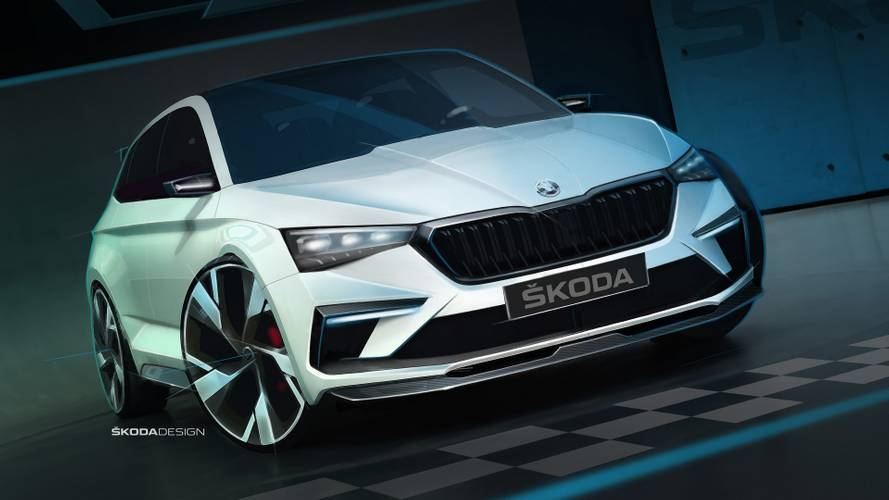 Skoda Vision RS Teasers, Specs Released: Plug-In Hybrid With 242 HP