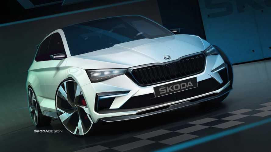 Skoda Vision RS получит 242-сильный мотор