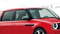 Honda Urban EV, il rendering