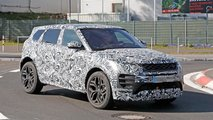 Land Rover Range Rover Evoque Spy Shots
