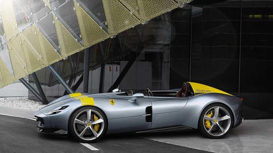 La Ferrari Monza SP1 primée pour son design