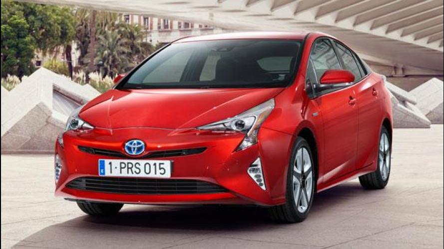 Nuova Toyota Prius, ecco la quarta generazione
