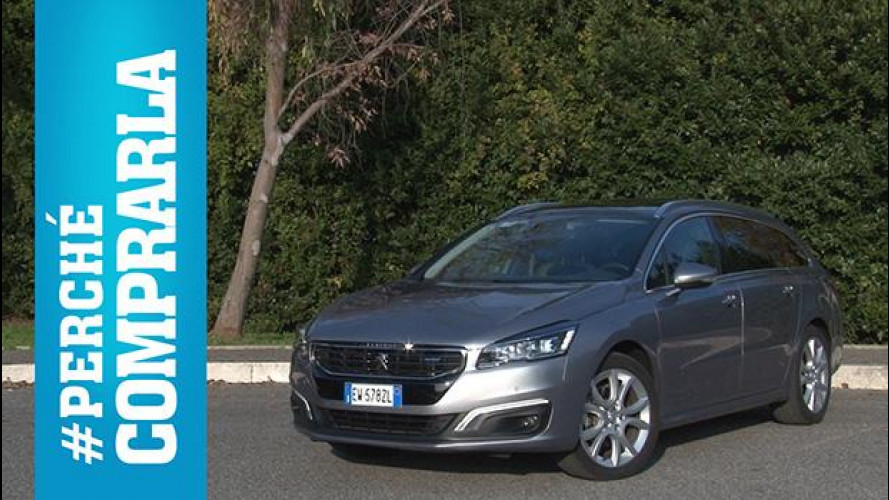 Peugeot 508 SW, perché comprarla... e perché no [VIDEO]