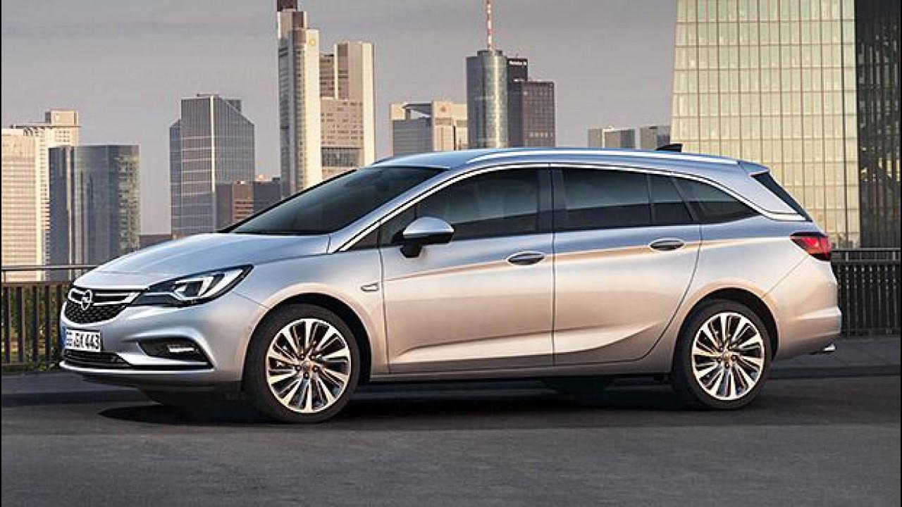 [Copertina] - Nuova Opel Astra Sports Tourer, più tecnologica e leggera