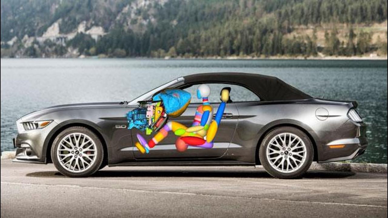 [Copertina] - Ford Mustang, nuova anche negli airbag
