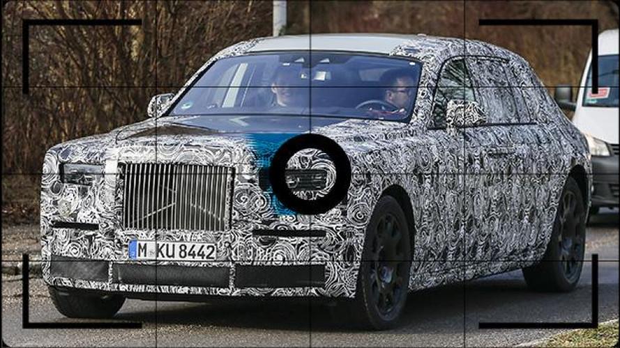 Rolls-Royce Phantom, foto spia della nuova generazione