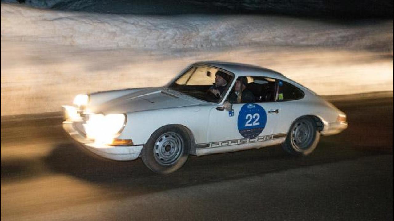 [Copertina] - Porsche alla Winter Marathon 2014: una notte di avventura su neve e ghiaccio