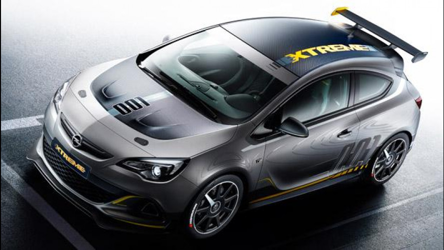 Opel Astra OPC Extreme, quella esageratissima