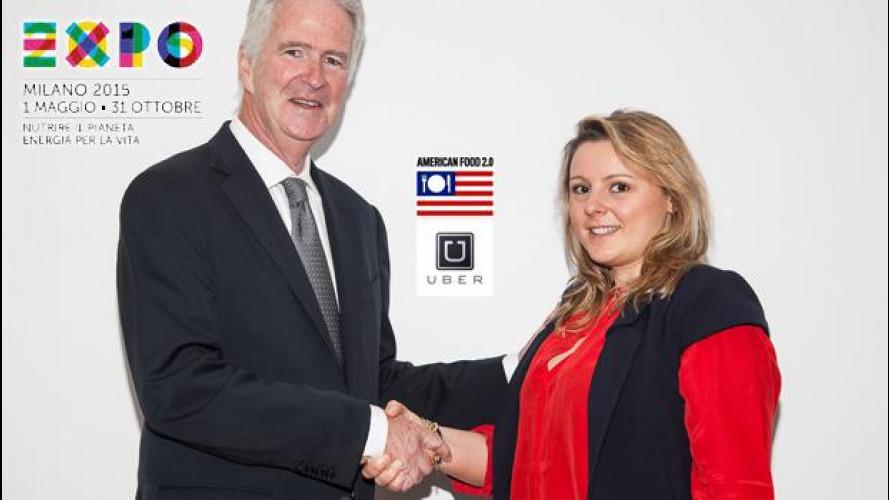 EXPO 2015, al padiglione USA ci si va con Uber