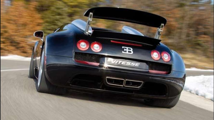 Bugatti Veyron, 50 esemplari al termine della produzione