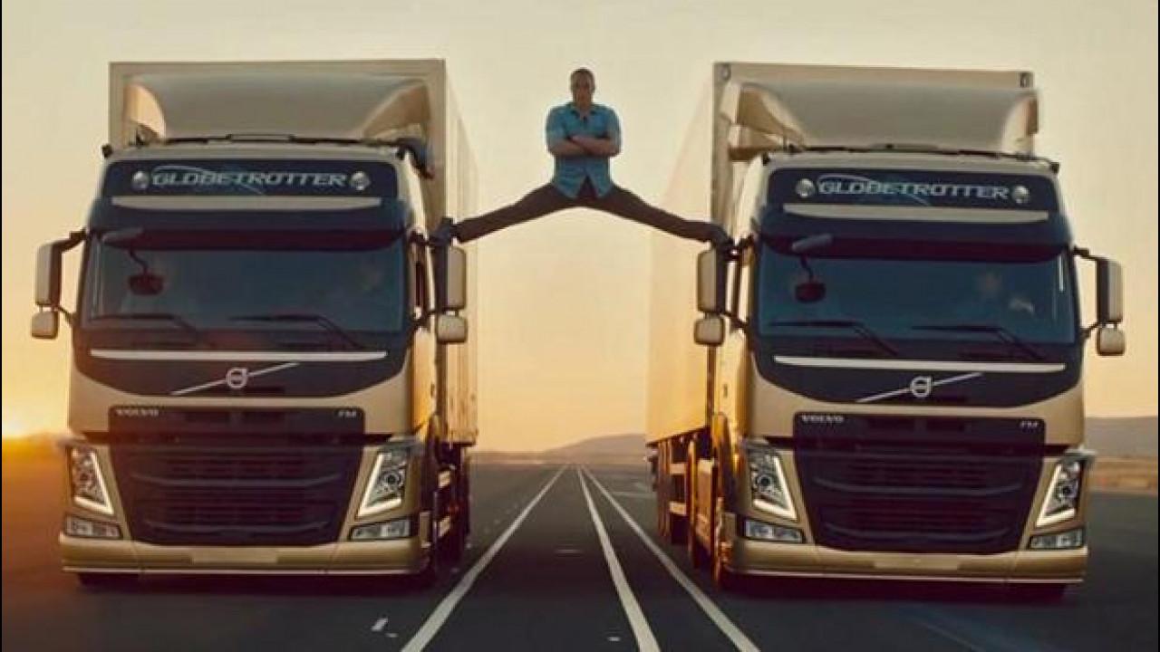 [Copertina] - Per Volvo è record sul web grazie alla spaccata di Van Damme [VIDEO]