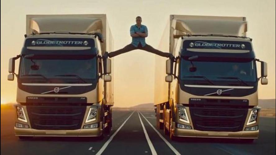Per Volvo è record sul web grazie alla spaccata di Van Damme [VIDEO]