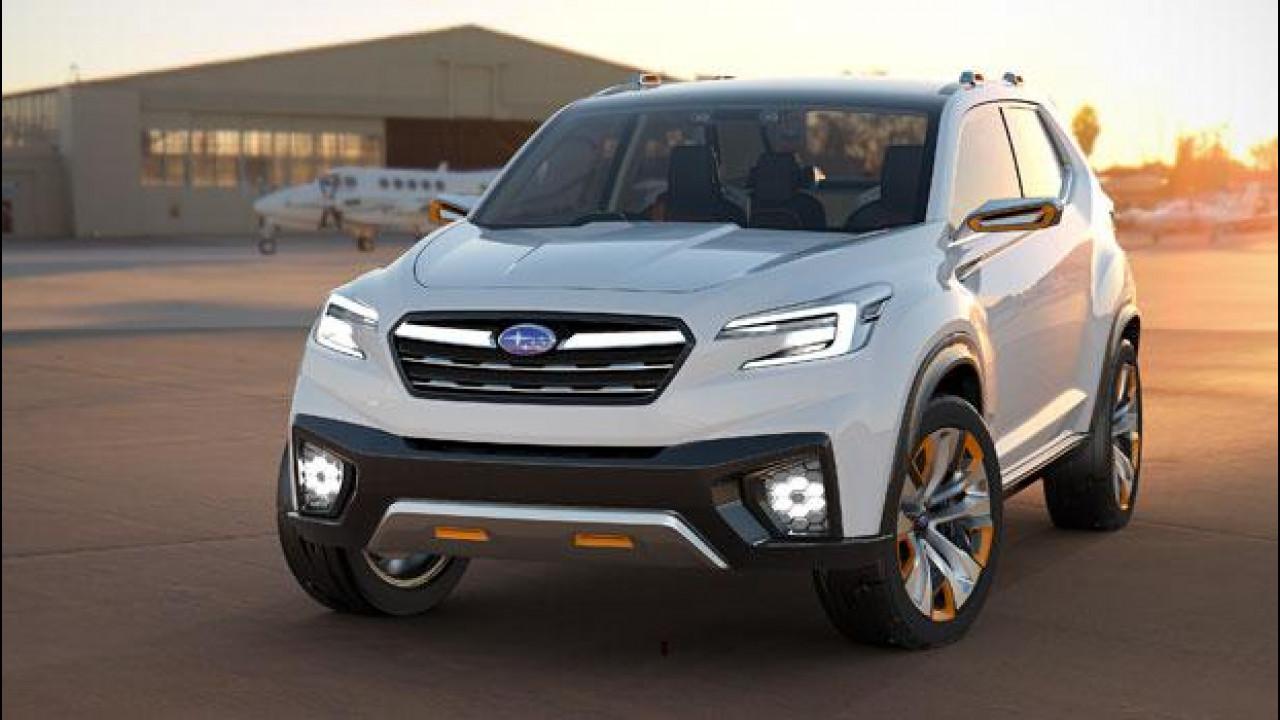 [Copertina] - Subaru Viziv Future Concept, prove di nuova Forester