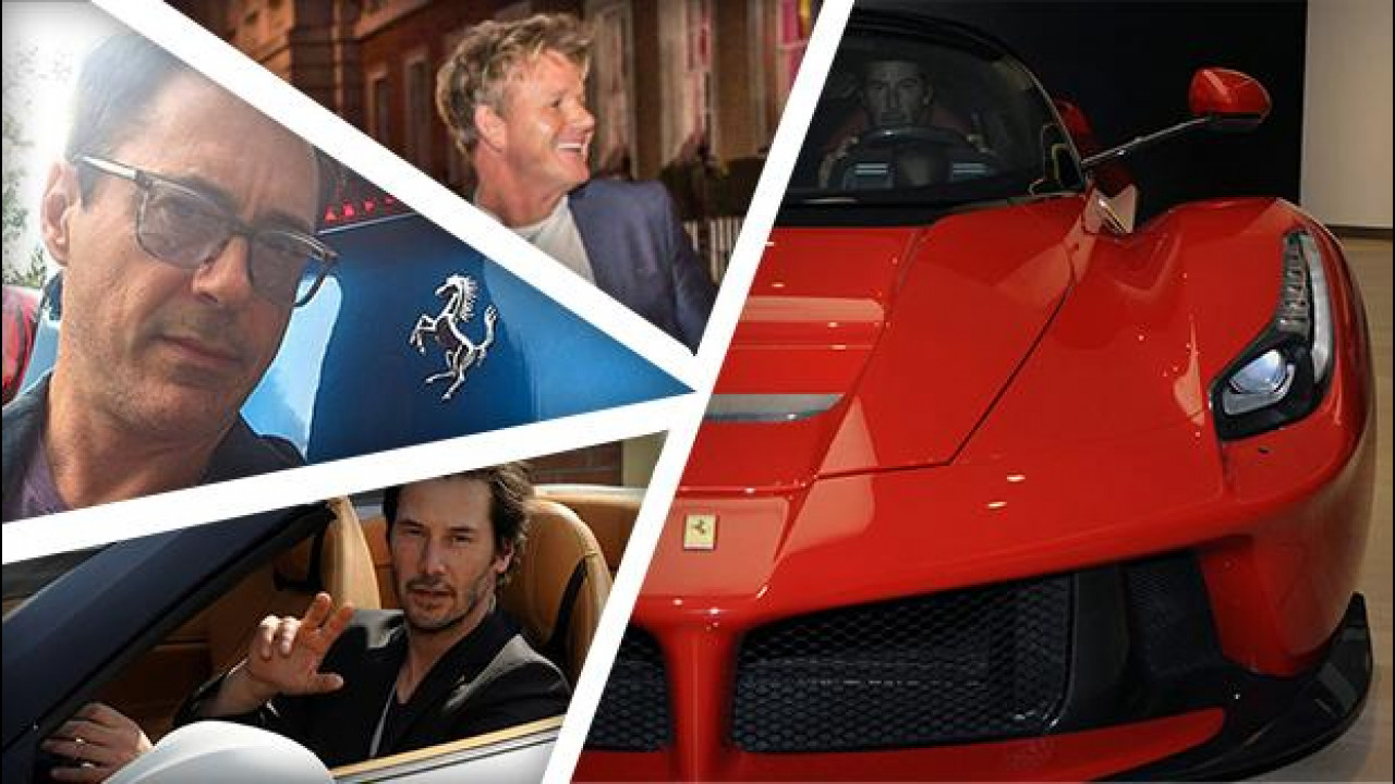 [Copertina] - Ferrari, tutti i VIP al volante del Cavallino Rampante