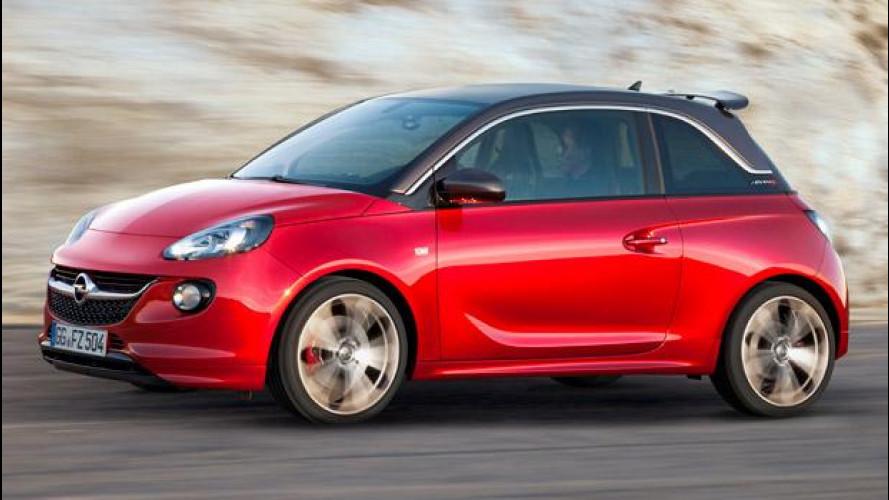 Opel ADAM S: la piccola ama lo sport