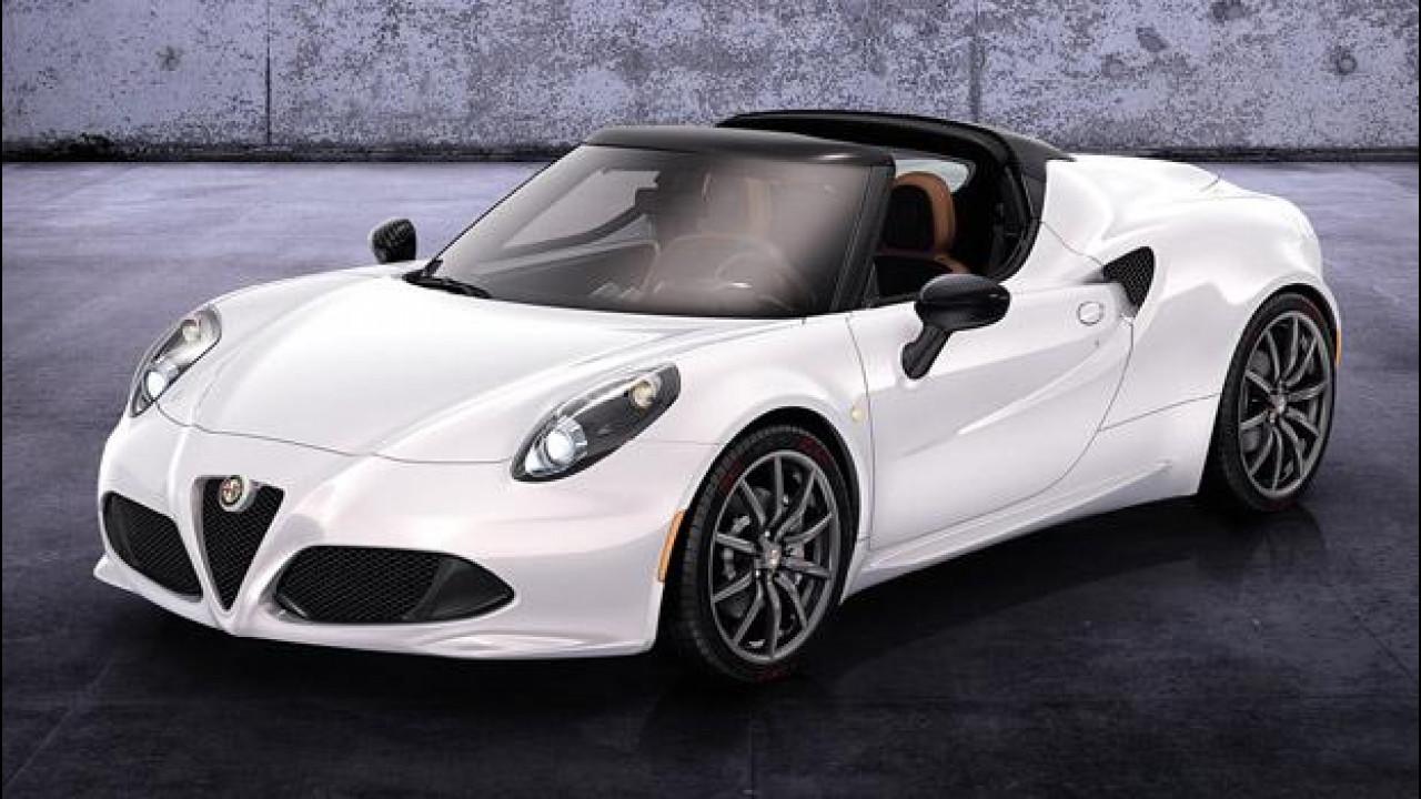 [Copertina] - Alfa Romeo 4C Spider concept: la sportiva si scopre