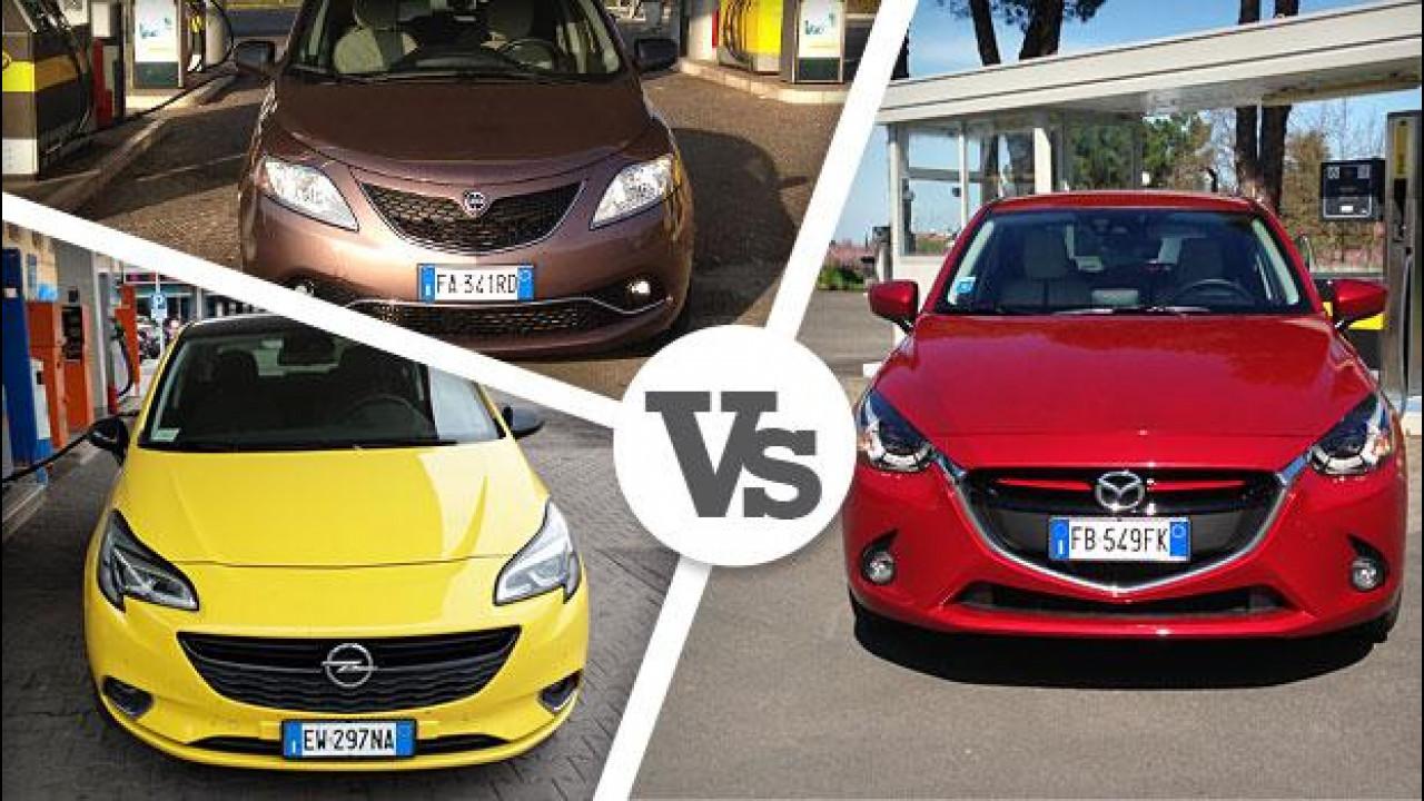 [Copertina] - Mazda2 Diesel, consumi record, concorrenza battuta